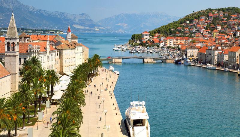 Day 1: Trogir - Maslinica (island Šolta)