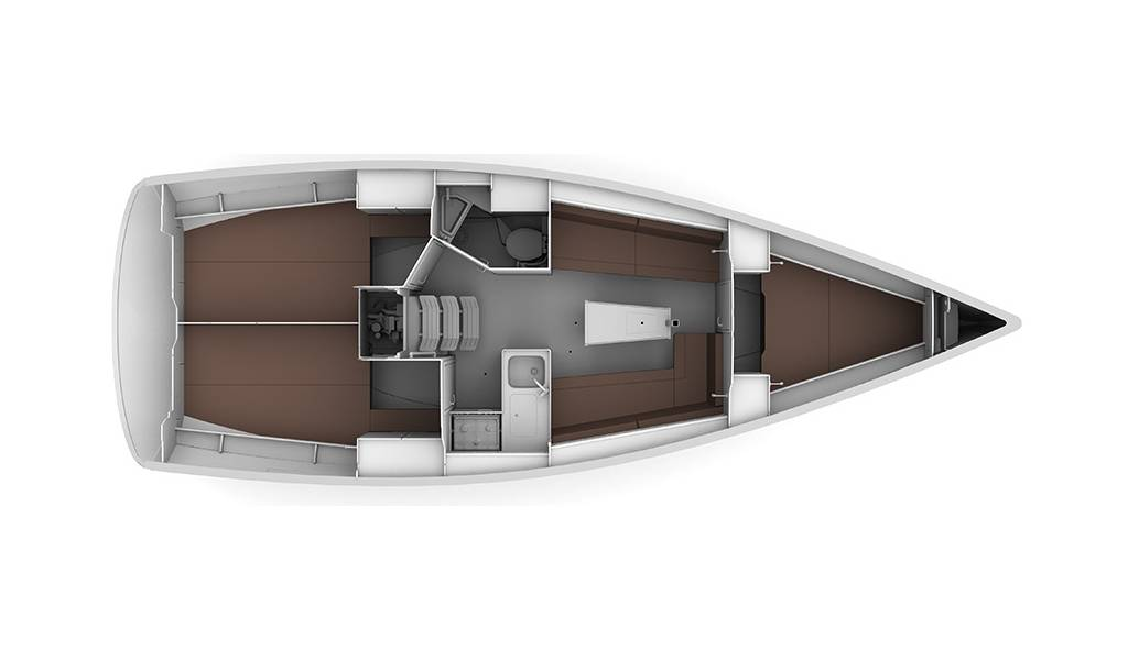 Bavaria Cruiser 34, LADY ONE