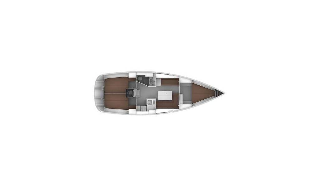 Bavaria Cruiser 36, OFFICE