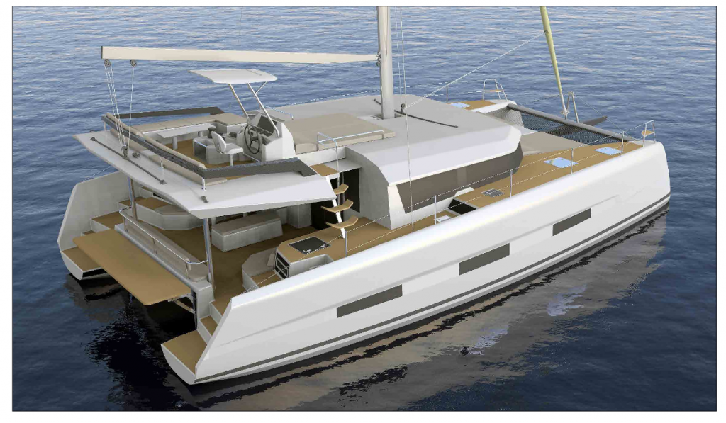 Dufour 48 Catamaran, BELIEVE