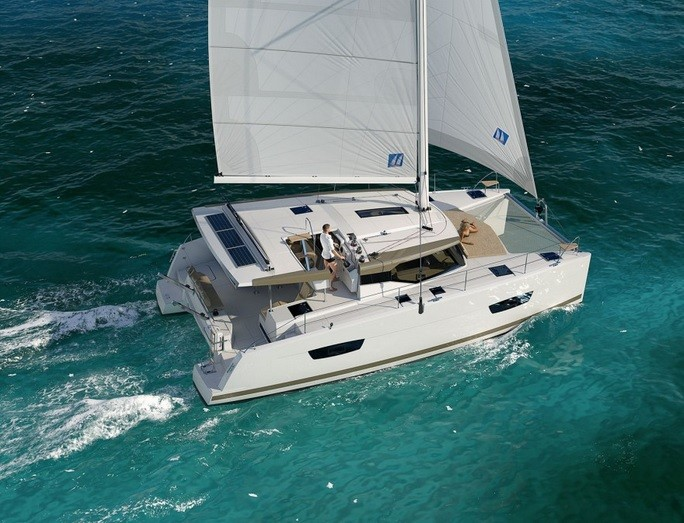 Fountaine Pajot Lucia 40, WHY NOT