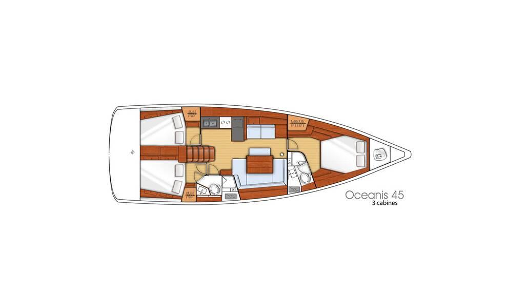 Oceanis 45, BARBARELLA